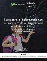 Bases para la implementación de la enseñanza de la programación en el sistema escolar